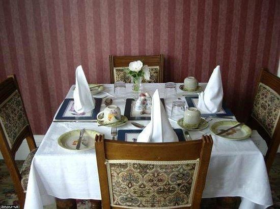 West Lodge B&B: Dining Room