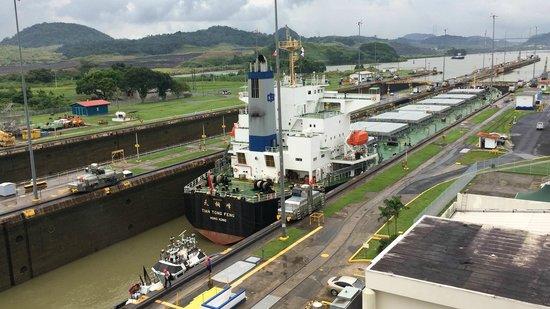 Panama Canal Railway Company: Vista do Canal