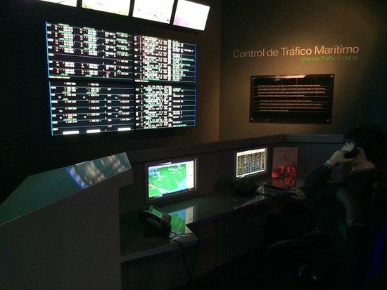 Panama Canal Railway Company: Foto interna no museu