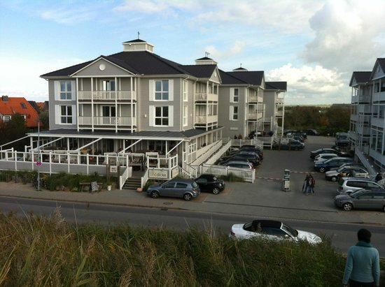 haupthaus mit spa restaurant bar bild von beach motel st peter ording sankt peter ording. Black Bedroom Furniture Sets. Home Design Ideas