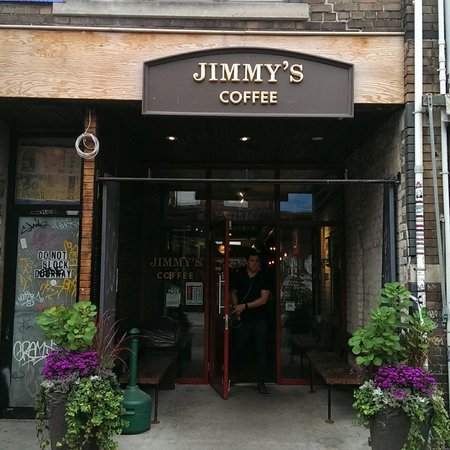 Photo of Cafe Jimmy's Coffee at 191 Baldwin St, Toronto M5T 1M1, Canada
