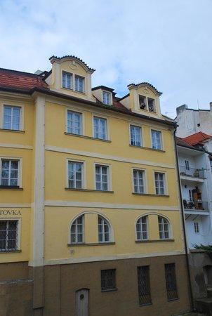Certovka Hotel: Фасад отеля