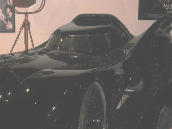 Petersen Automotive Museum : Original Batmobile - Movie with Michael Keaton