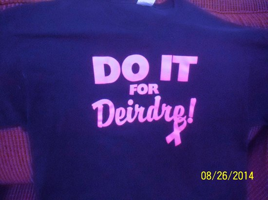 Microtel Inn & Suites by Wyndham Wilkes Barre: T-Shirts for my Daughter, Deirdre's, benefit night!