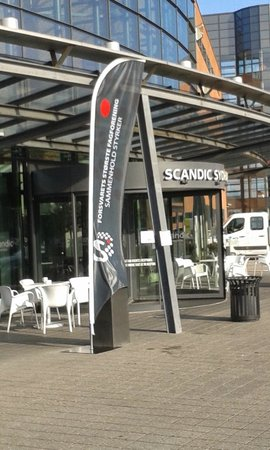 Scandic Sydhavnen: Entry of the Hotel