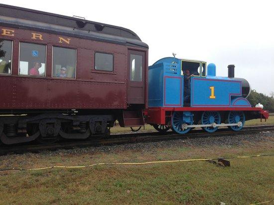 North Carolina Transportation Museum: Thomas