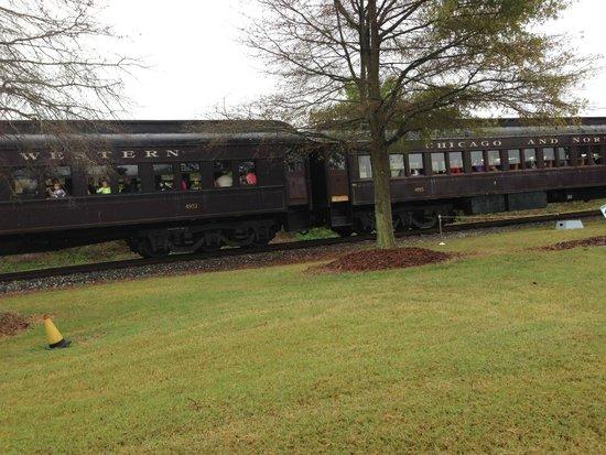 North Carolina Transportation Museum: Train ride