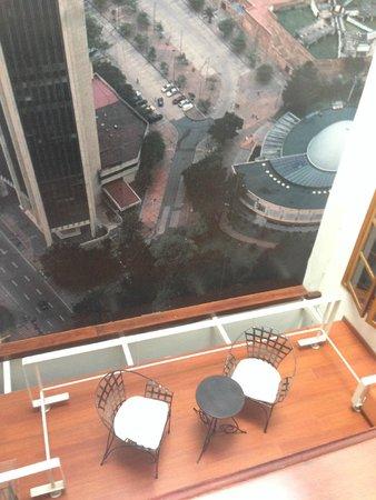 Virrey Park Hotel : Vista interna a zona de descanso