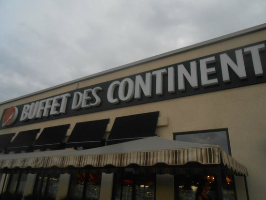 Buffet des Continents : Ingresso