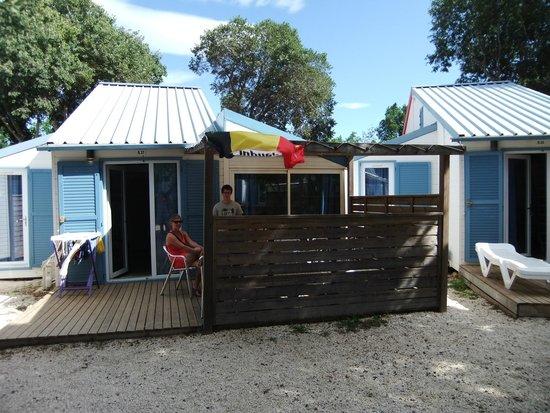 notre bungalow - photo de camping sunelia le bois fleuri, argelès