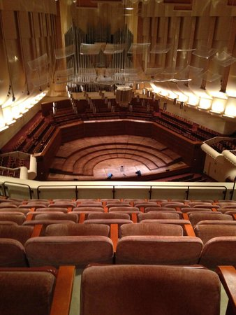 Louise M. Davies Symphony Hall : Oct 4, 2014 from the 2nd tier...