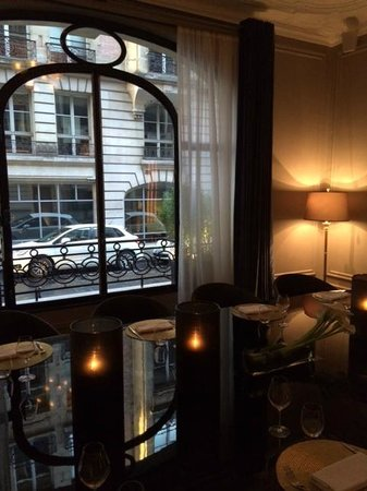Hotel Vernet: Private dining area