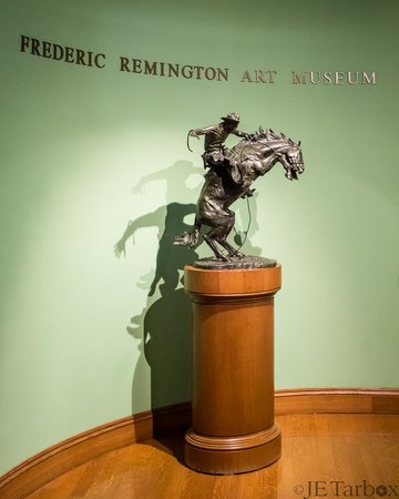 "Frederic Remington Art Museum: ""Bronco Buster"""