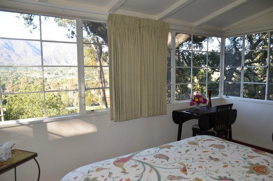 Ojai Retreat: Our Bedroom View