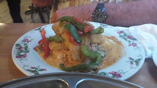 Pittypat's Porch: pan fried catfish