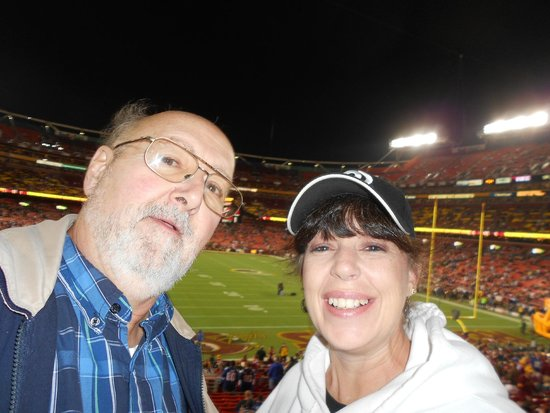 FedExField: Me and my daughter in law