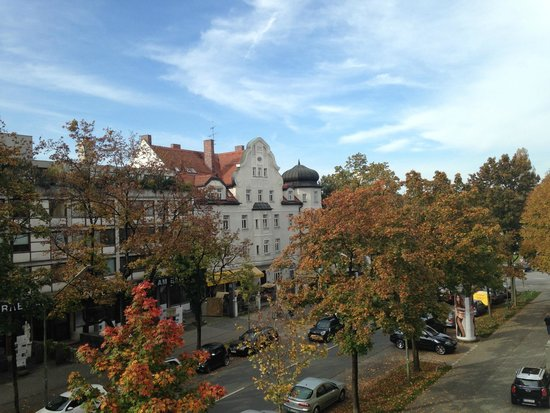 Frederics Serviced Apartments: View from apartment