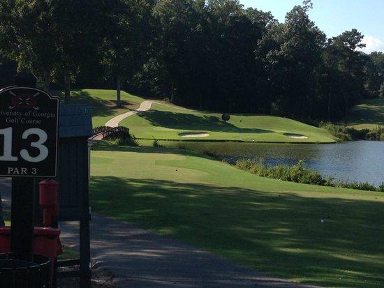 University of Georgia Golf Course : 13th hole