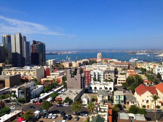 Doubletree Hotel San Diego Downtown : room view