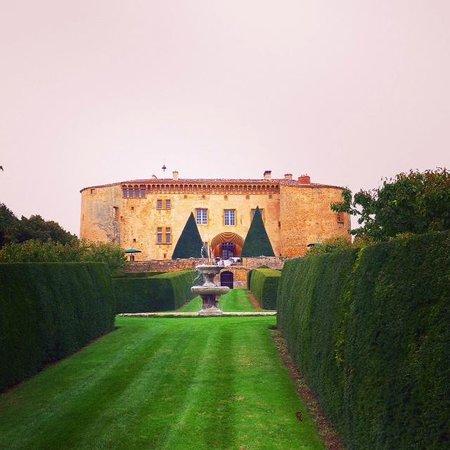 Château de Bagnols : Garden