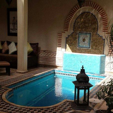 Riad Zayane: Plunge pool