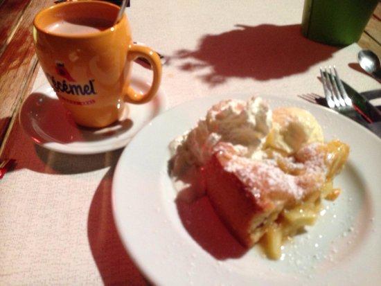 Restaurant De Witte Leeuw: Apple pie