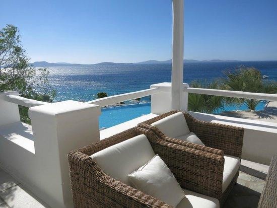 Balcony - Saint John Hotel Villas & Spa: *