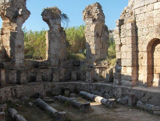 Hamam - Picture of Perge Ancient City, Antalya - TripAdvisor
