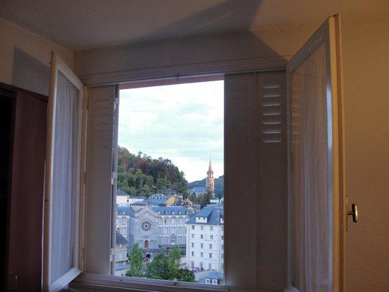 Hotel Sainte-Elisabeth: widok z okna pokoju