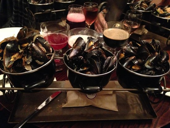 The Belgian Monk: The mussel selection