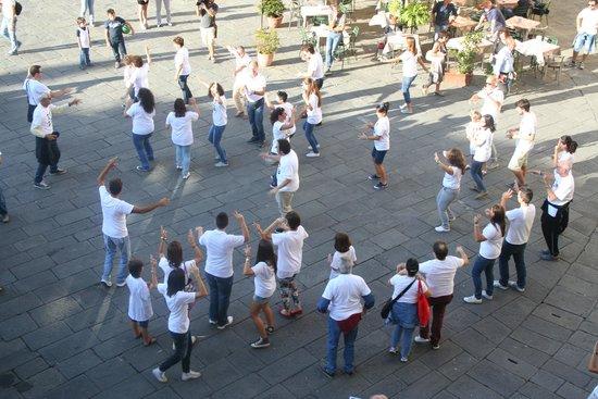 B&B Anfiteatro: The piazza