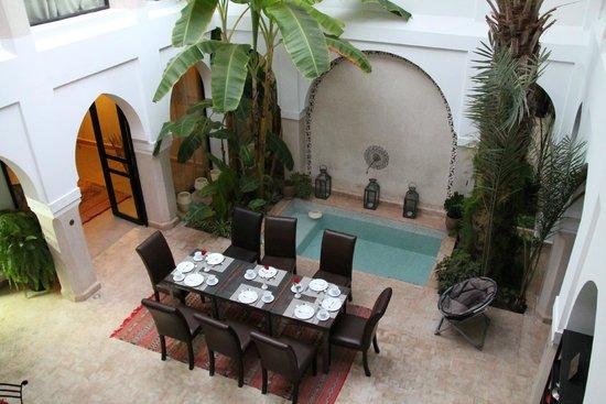 Riad Shanima & Spa: le patio