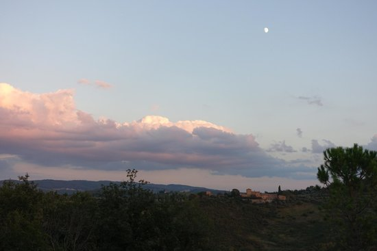 Torre di Ponzano - Chianti area - Tuscany -: The view