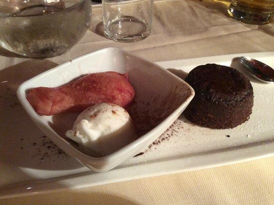 Le Boudoir : Dessert....