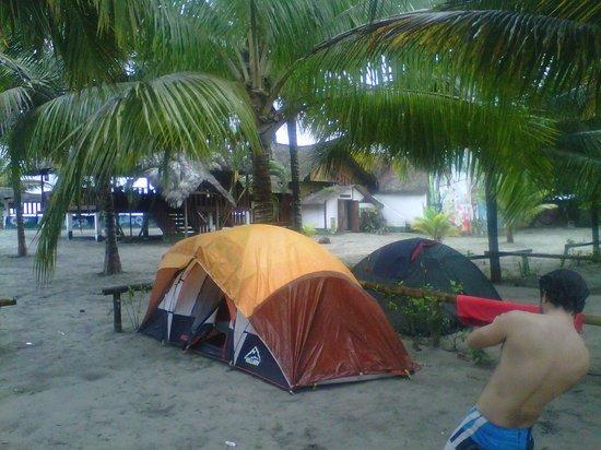 Esmeraldas, Ecuador: Camping