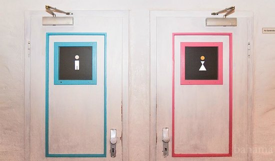Bahama Bar & Restaurant: Toiletten
