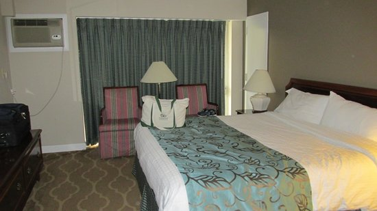 Americana Hotel: Our room