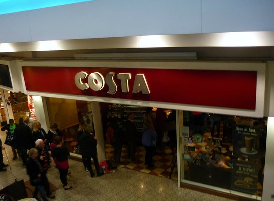 Costa Coffee Lowry Shopping Outlet Salford Menu Prices