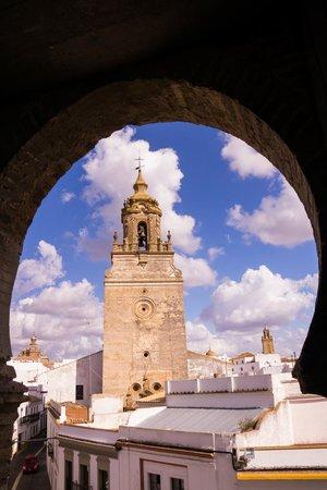 Alcázar de la Puerta de Sevilla: View from first floor
