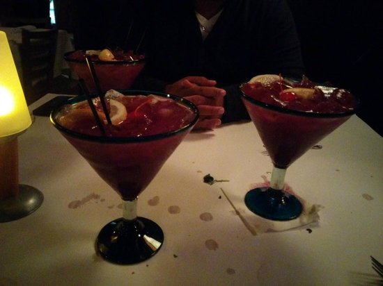 Chardonnay's Restaurant : Sangria was delicious and HUGE!