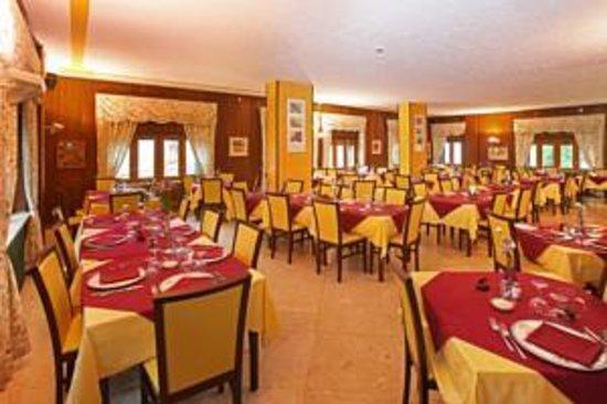 Hotel Gran Baita: uno scorcio della grande sala da pranzo