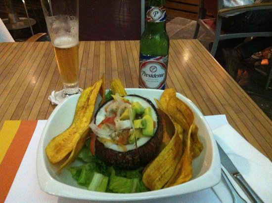 Ceviche Y Cerveza Presidente Picture Of Mix Dominican Republic Tripadvisor