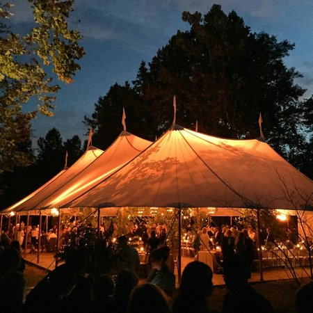 Clifton Inn : Tent magically appears at end of beautiful path