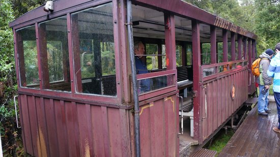 Shantytown Heritage Park : Rail carriage