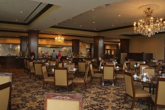 Hilton Atlanta / Marietta Hotel & Conference Center: Beautiful dinning room