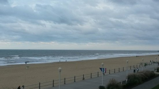 The Seahawk : View from our room