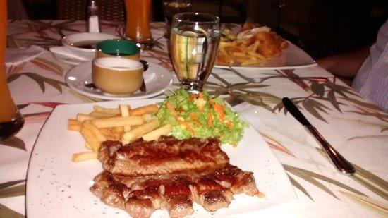 Hotel Poblado Alejandria: Comida deliciosa