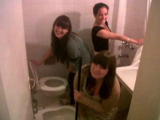 Hotel Taormina: baño
