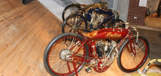 Barber Vintage Motorsports Museum: Board trackers.... what history