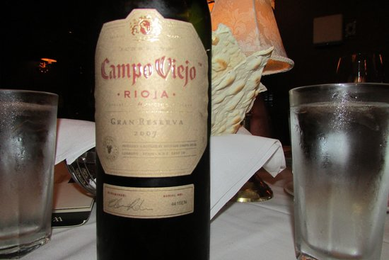 The Capital Grille : Campo Viejo rioja